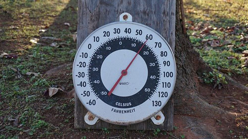 The ideal temperature in your bedroom should remain between 16℃ and 18℃ (60-65℉)