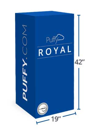 Puffy Mattress Box Dimensions