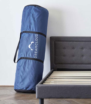 DreamCloud mattress delivery